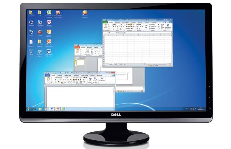 Dell ST2420L 24 inch Widescreen LED Full-HD LCD monitor.