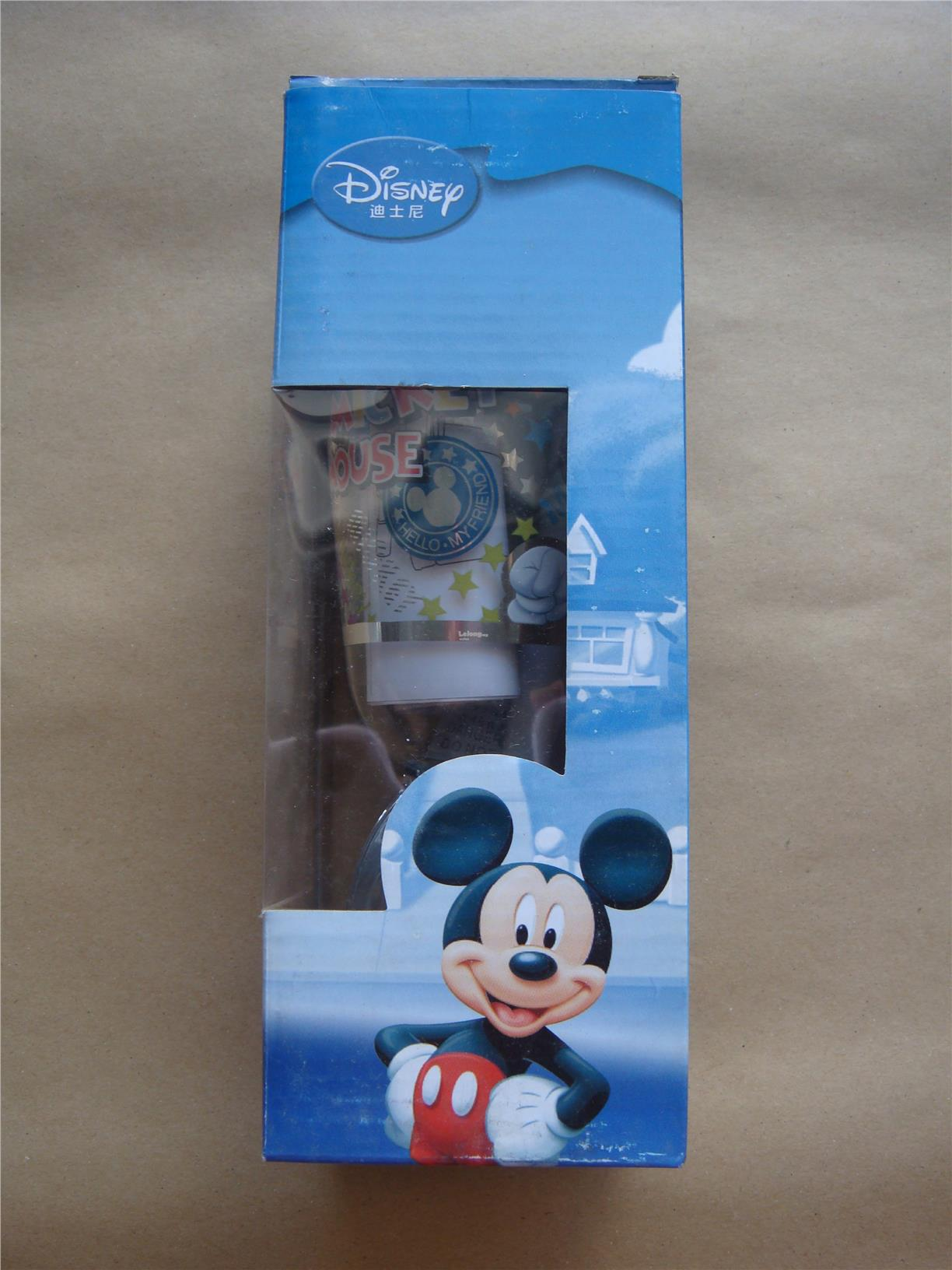 Disney Cartoon Sippy Cup With Straw – Mickey Mouse