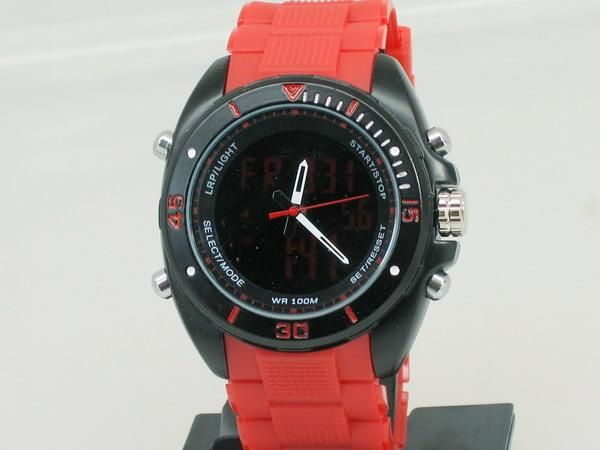 DUAL TIME SURESH SERIES FIELD OPS WATCH ( 69 )