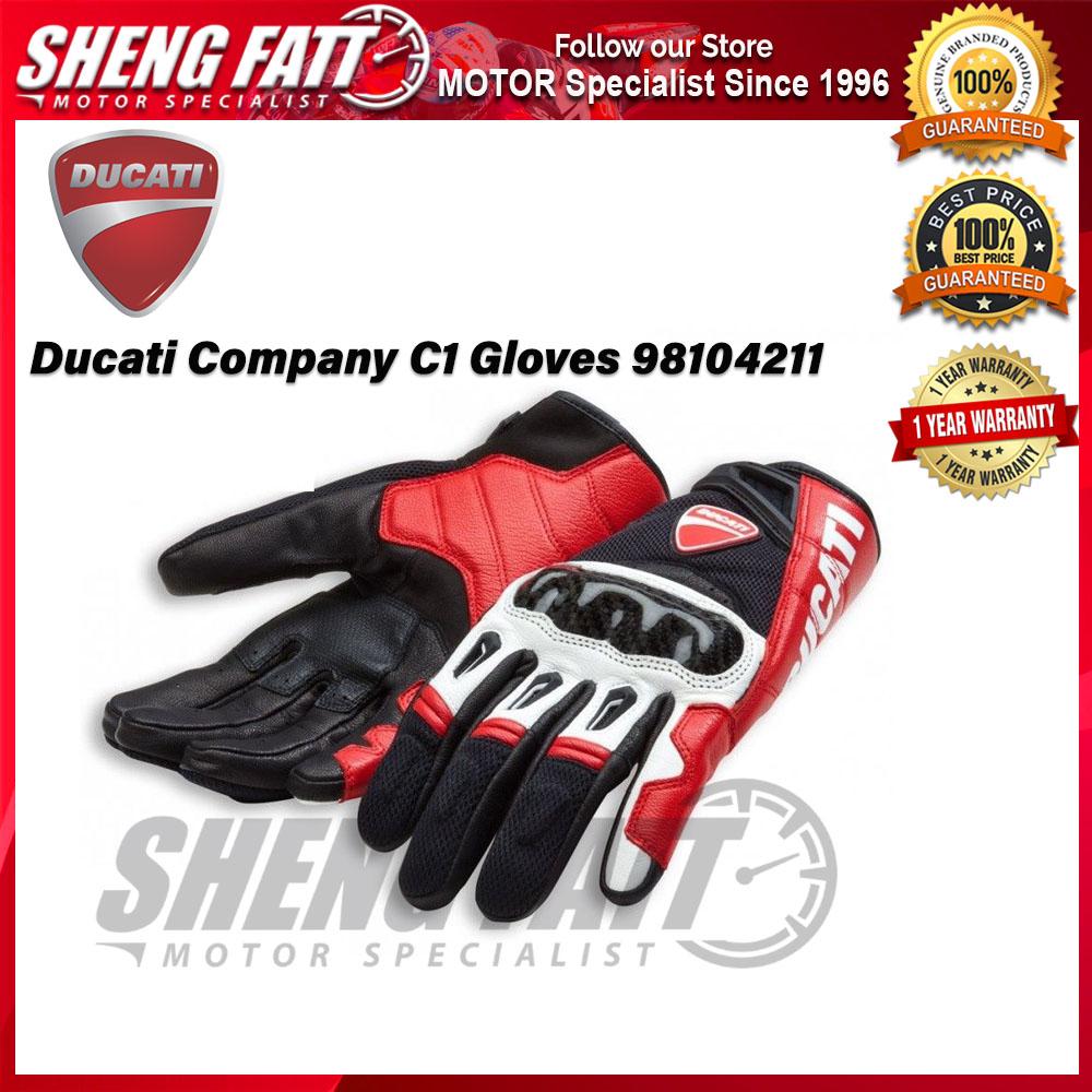 Ducati Company C1 Men's Gloves 98104211 - [ORIGINAL]