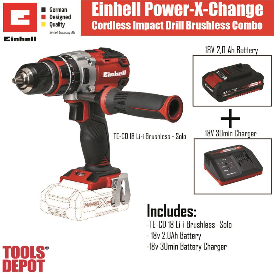 einhell power x-change brushless impa (end 2/5/2019 3:15 pm)