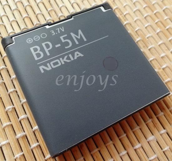 Enjoys: 100% Original Battery BP-5M Nokia 5700 6110 6500S 7390 8600