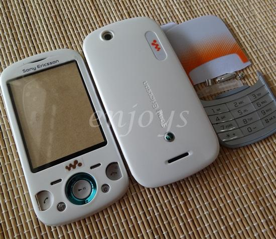 Enjoys: AP FacePlate HOUSING CASING for Sony Ericsson Zylo W20 ~WHITE