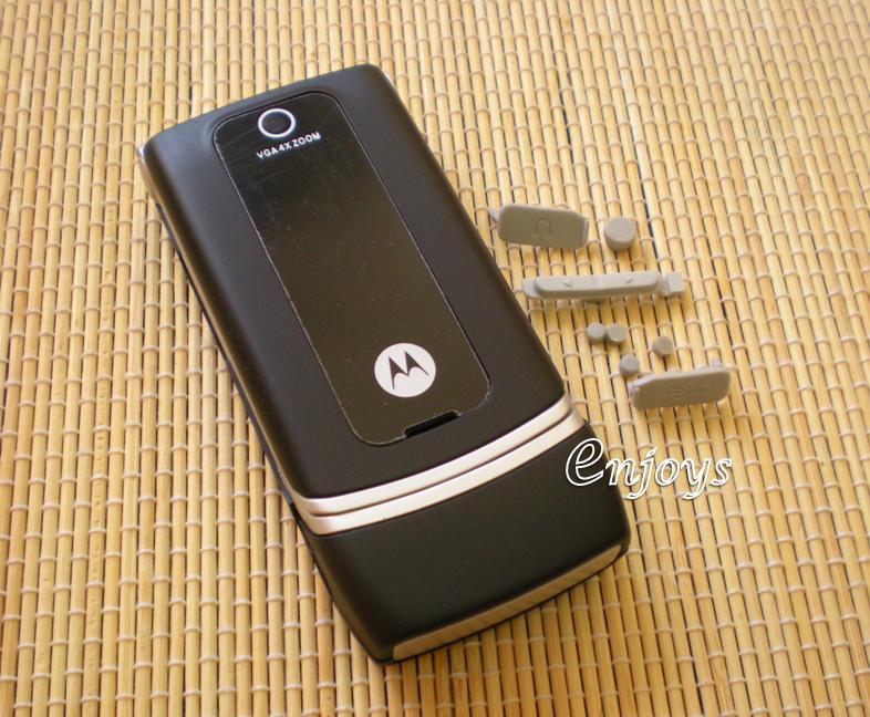 Enjoys: AP ORIGINAL HOUSING Motorola W375 ~ BLACK ~ #FULL SET#