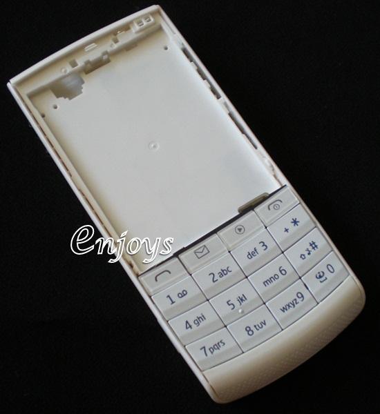 Enjoys: AP ORIGINAL HOUSING Nokia X3-02 Touch and Type ~WHITE ~@@