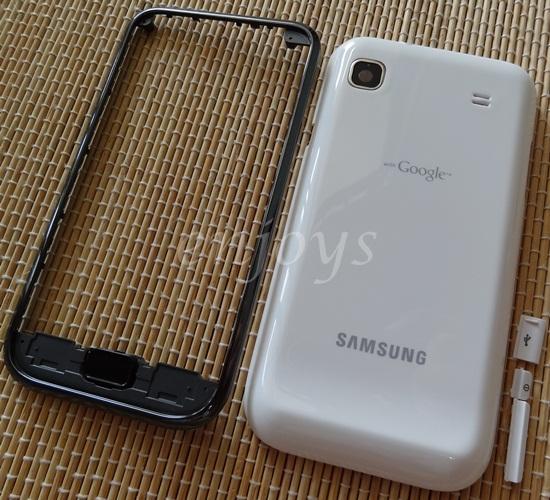 Enjoys: AP ORIGINAL HOUSING for Samsung I9000 Galaxy S ~WHITE ~#NEW#