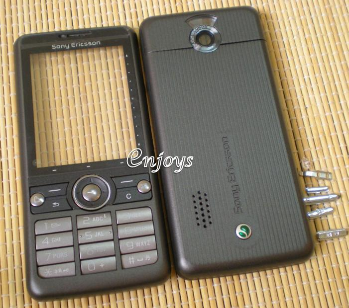 Enjoys: AP ORIGINAL HOUSING Sony Ericsson G700 ~ BLACK ~ ##Full Set##