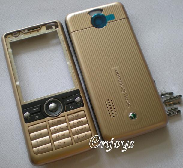 Enjoys: AP ORIGINAL HOUSING Sony Ericsson G700 ~ BROWN ~ ##Full Set##