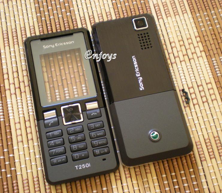 Enjoys: AP ORIGINAL HOUSING Sony Ericsson T250i T250 ~BLACK #FULL SET