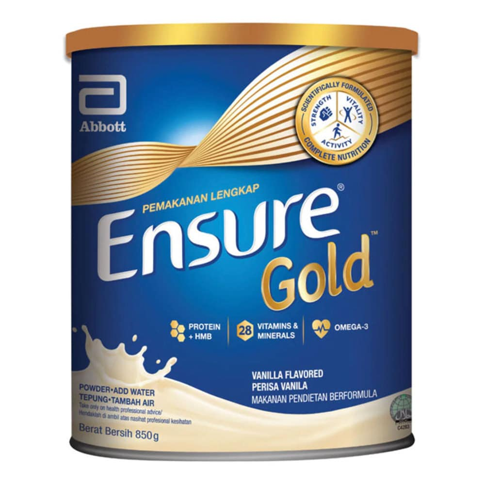 ENSURE Gold Vanilla 850g