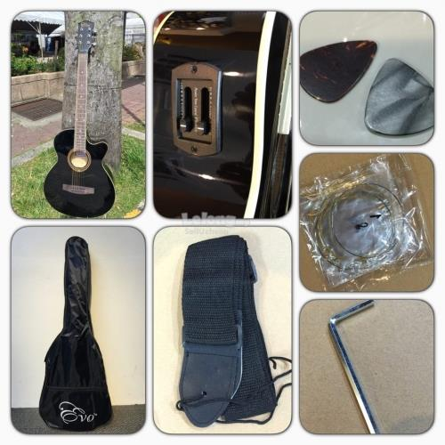 Evo Guitar Budget Guitar Package with passive pickup