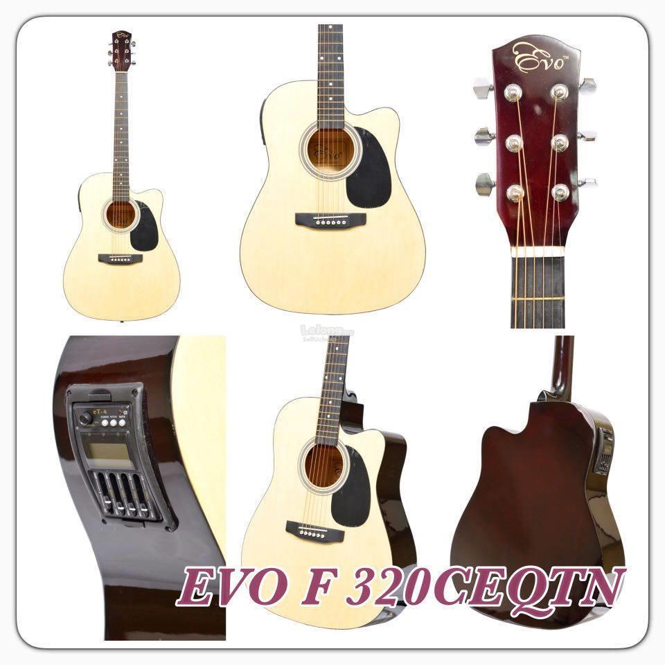 Evo Guitar Package with pickup and build in tuner