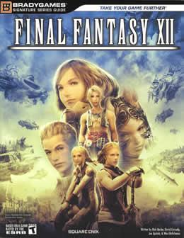 FINAL FANTASY XII 12 OFFICIAL  PS2 STRATEGY GUIDE EBook not psp