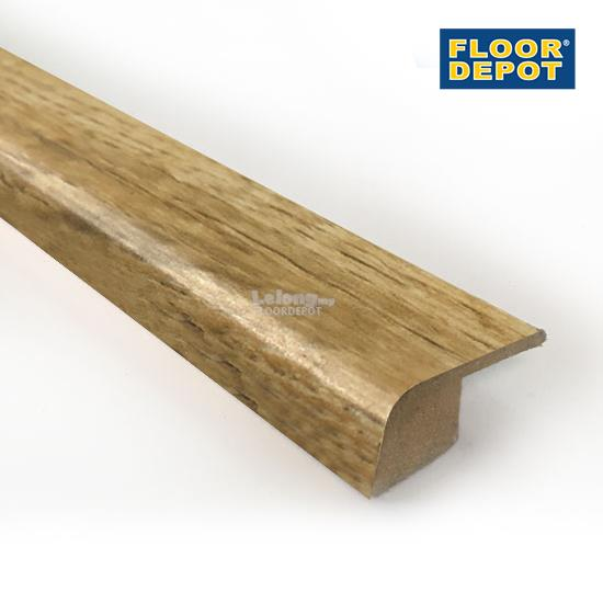 FLOOR DEPOT - 12MM LAMINATE END-PROFILE - LOUISIANA OAK