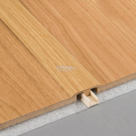 FLOOR DEPOT - 8MM LAMINATE TRANSITION-PROFILE - SPESSOR OAK