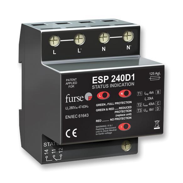 FURSE  ESP240D1  SURGE Lightning PROTECTOR (UK Made)