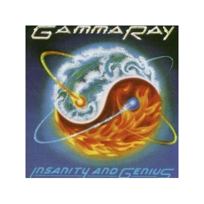 GAMMA RAY INSANITY & GENIUS ORIGINAL AUDIO CD FROM USA