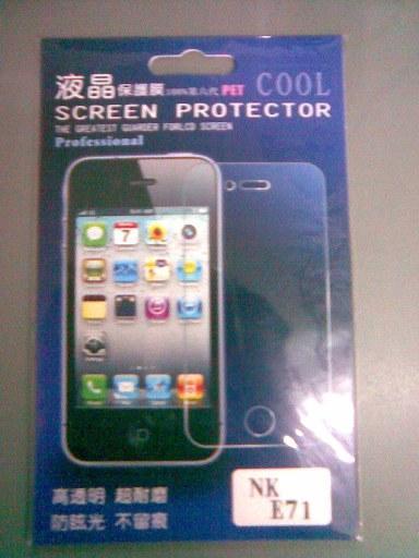 New generic Reusable Screen Protector for Nokia E71