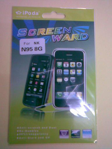 New generic Reusable Screen Protector for Nokia N95 8G