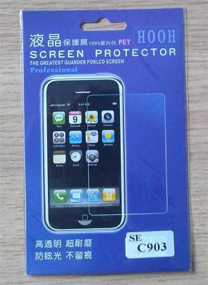 New generic Reusable Screen Protector for Sony Ericsson C903