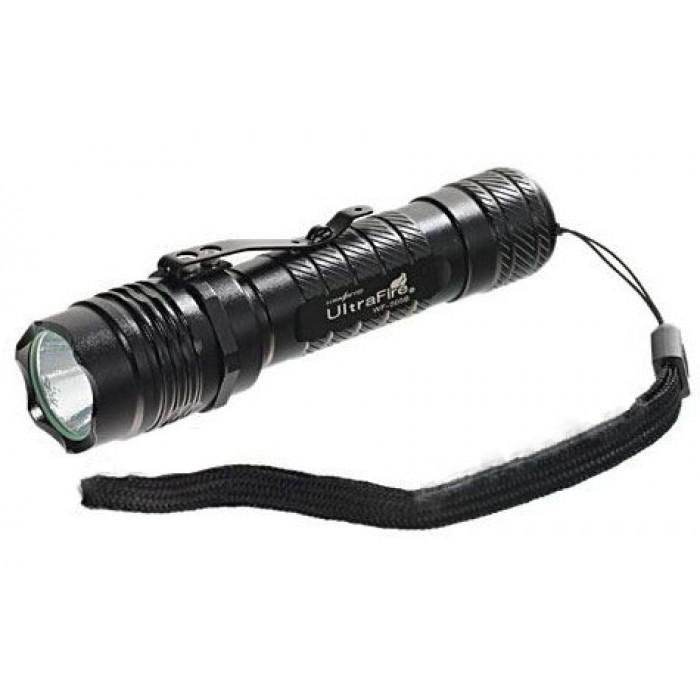 Genuine Ultrafire WF-505B CREE LED Flashlight (2xCR123A)