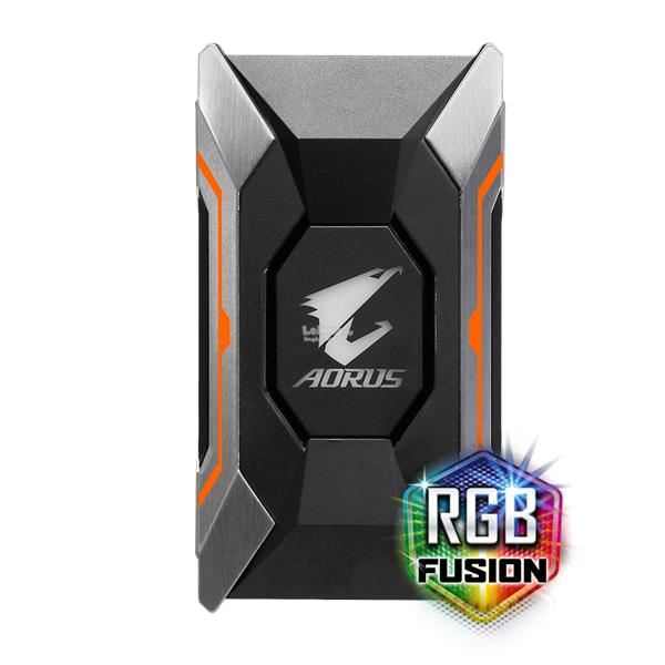 # GIGABYTE AORUS SLI HB Bridge RGB (2 Slot Spacing) #