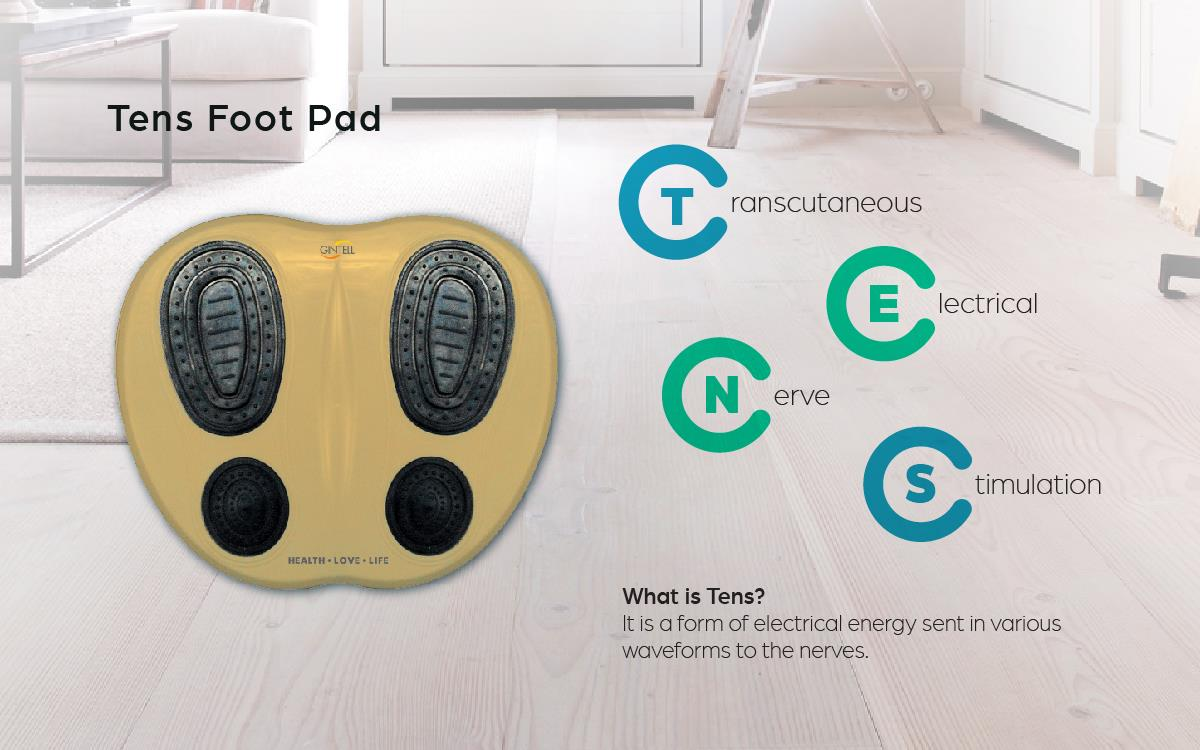 GINTELL G-Beetle Plus Foot Massager with Tens Pad (Showroom Unit)