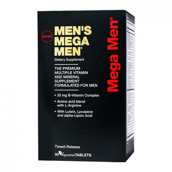 GNC Men's Mega Men Timed Release (90 VegeCaps)