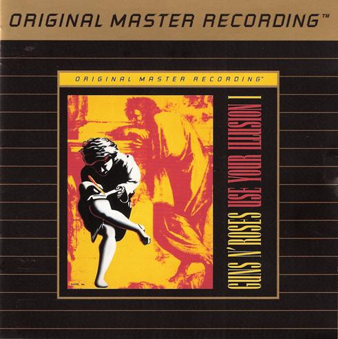 GUNS N' ROSES USE YOUR ILLUSION I 24KT GOLD PLATED CD FROM USA