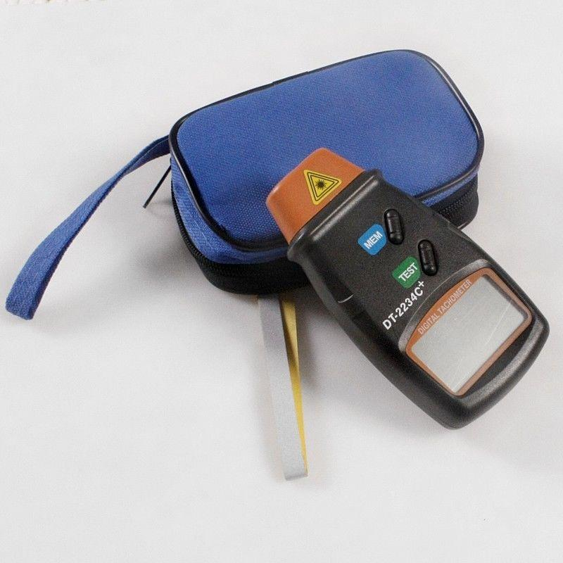 Hand Held Digital Laser Photo Tachometer / RPM Measurement Non Contact