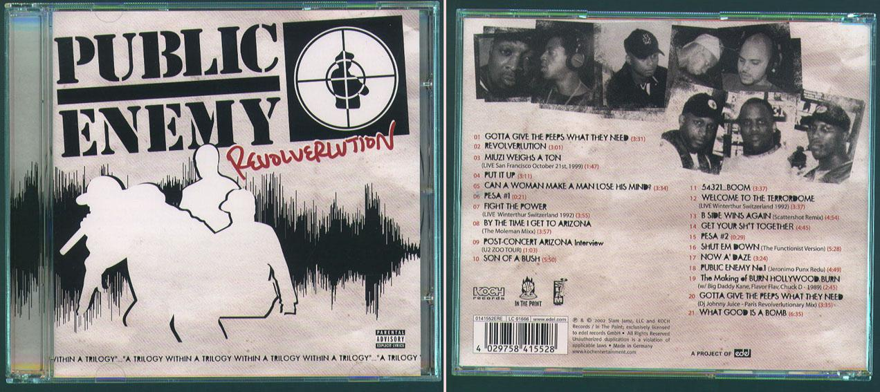Hip Hop - Public Enemy 'Revolverlution' CD