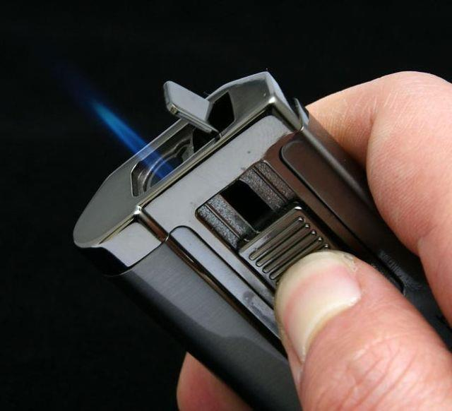 Honest BCZ299-1 Jet Flame Torch Cigar Butane Gas Lighter