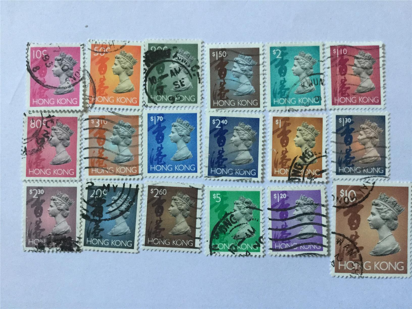 Hong Kong Nice Stamps Lot 6