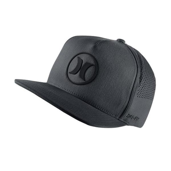 HURLEY DRI FIT ICON 2.0 HATS FFSN IN - MHA0005950 BLACK