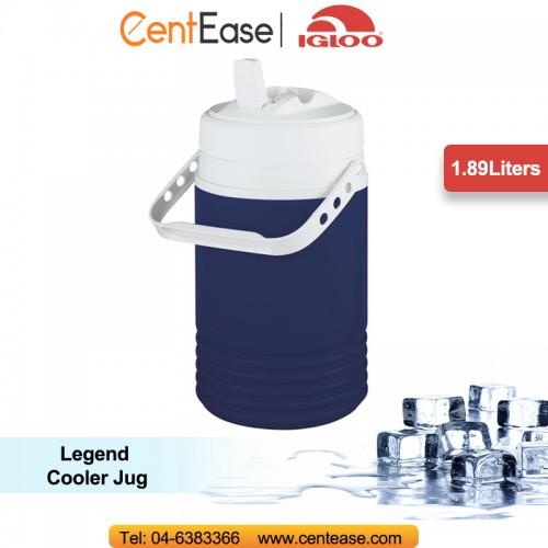 Igloo cooler open