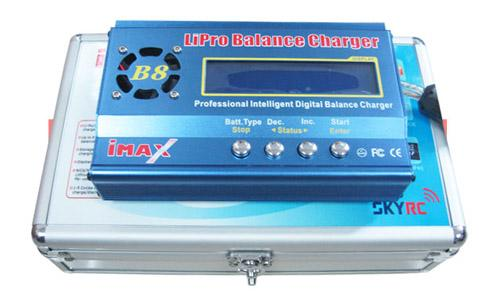 IMAX B8 1-8 Cells Charger/Discharger With Aluminium Box