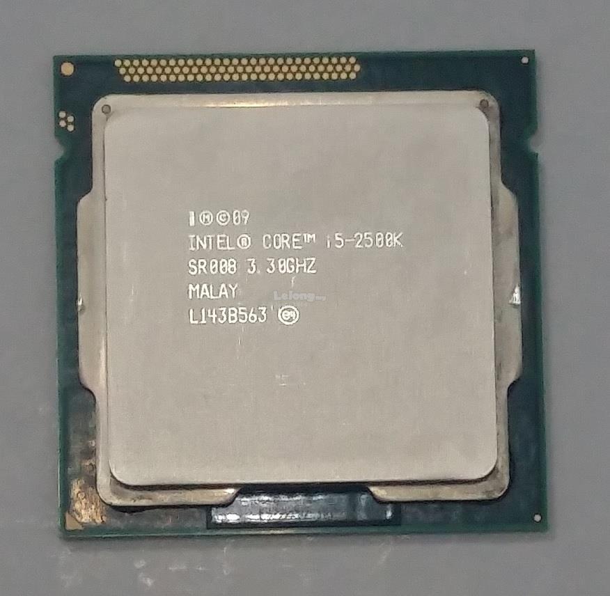 Intel Core i5-2500K 3.3Ghz Socket LGA 1155 Processor