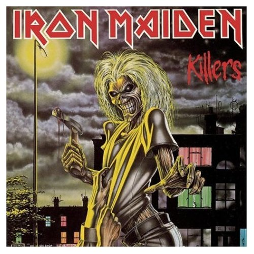IRON MAIDEN KILLERS ORIGINAL AUDIO CD FROM USA