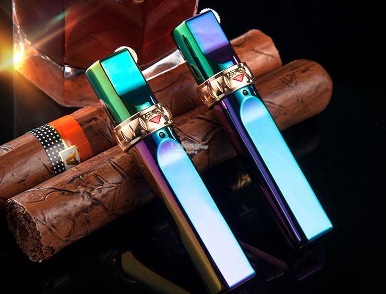 Jobon ZB633 Jet Flame Torch Cigar Butane Gas Lighter