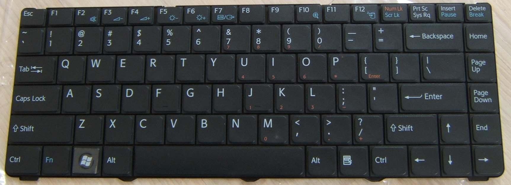 Как сделать на ноутбуке клавиатуру