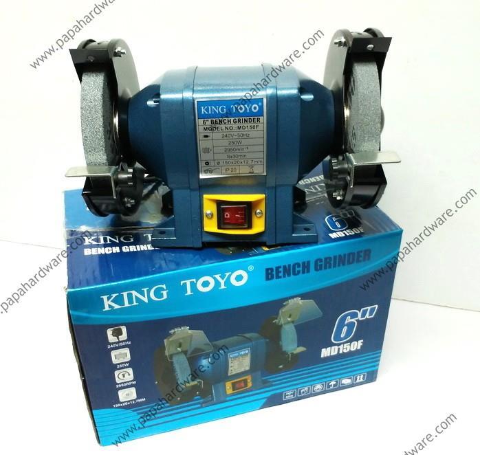 King Toyo Bench Grinder 6 250w End 10 2 2017 9 15 Am