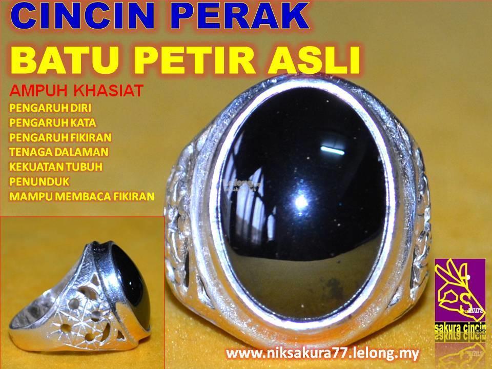 LELONG FREE POS CINCIN PERAK BATU PETIR ASLI..34