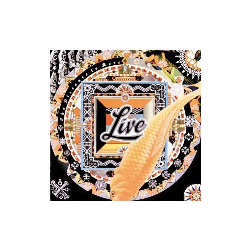LIVE THE DISTANCE TO HERE ORIGINAL AUDIO CD FROM USA