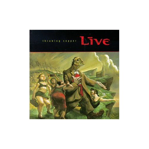 LIVE THROWING COPPER ORIGINAL AUDIO CD FROM USA