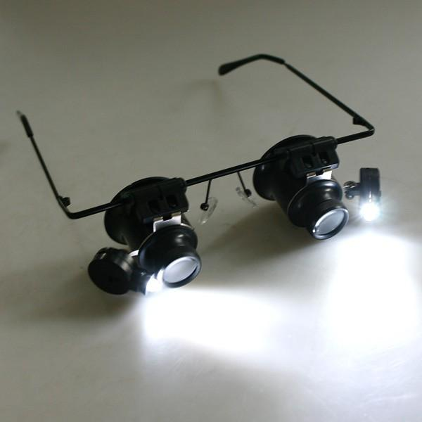 Magnifier Glass magnifying Eyeglass Loupe Glasses 20X
