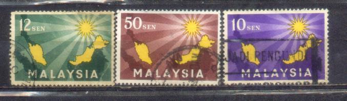 Malaysia Complete Set Lot MC 16