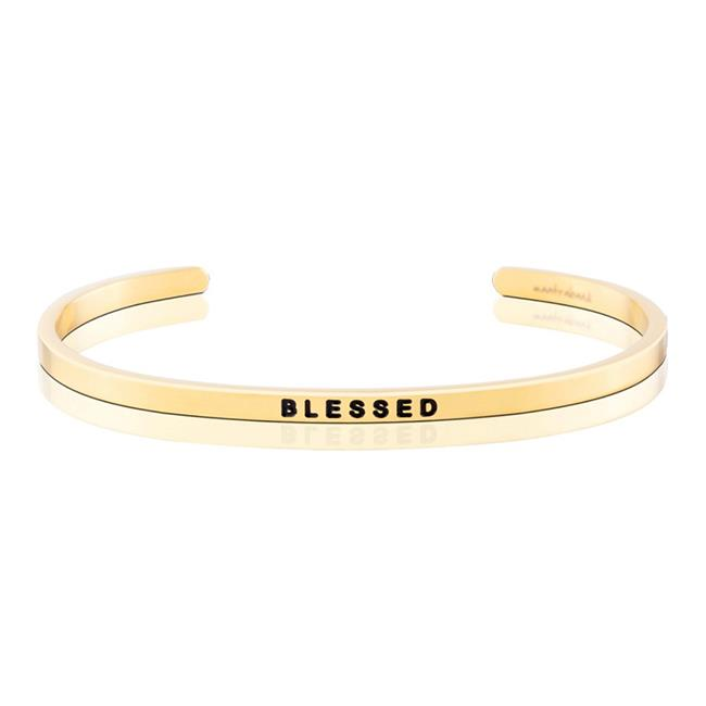 MantraBand Blessed Gold Bracelet