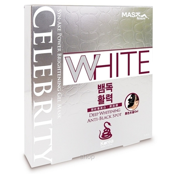 Mask House Celebrity Syn-Ake Power Brightening Gel Mask - M030