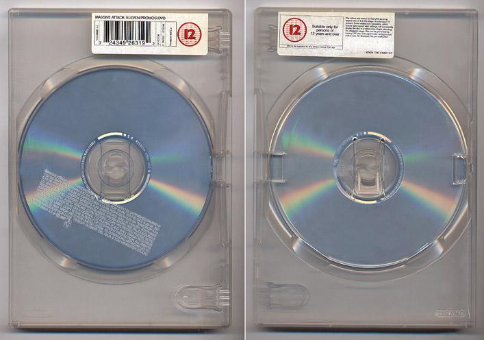 Massive Attack '11 Promos' UK DVD