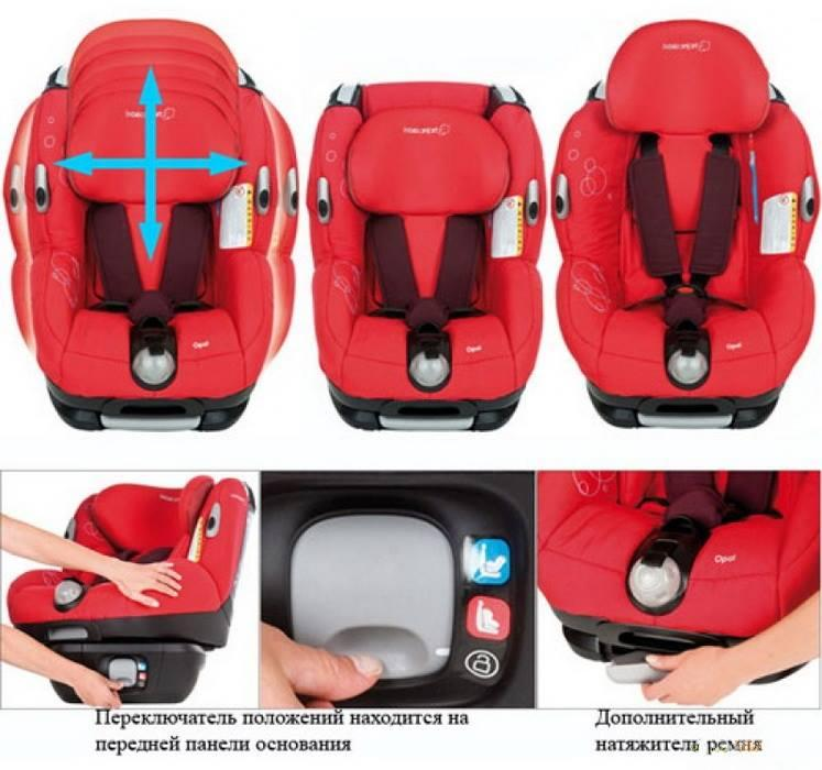 Maxi Cosi Opal Child Car Seat Review